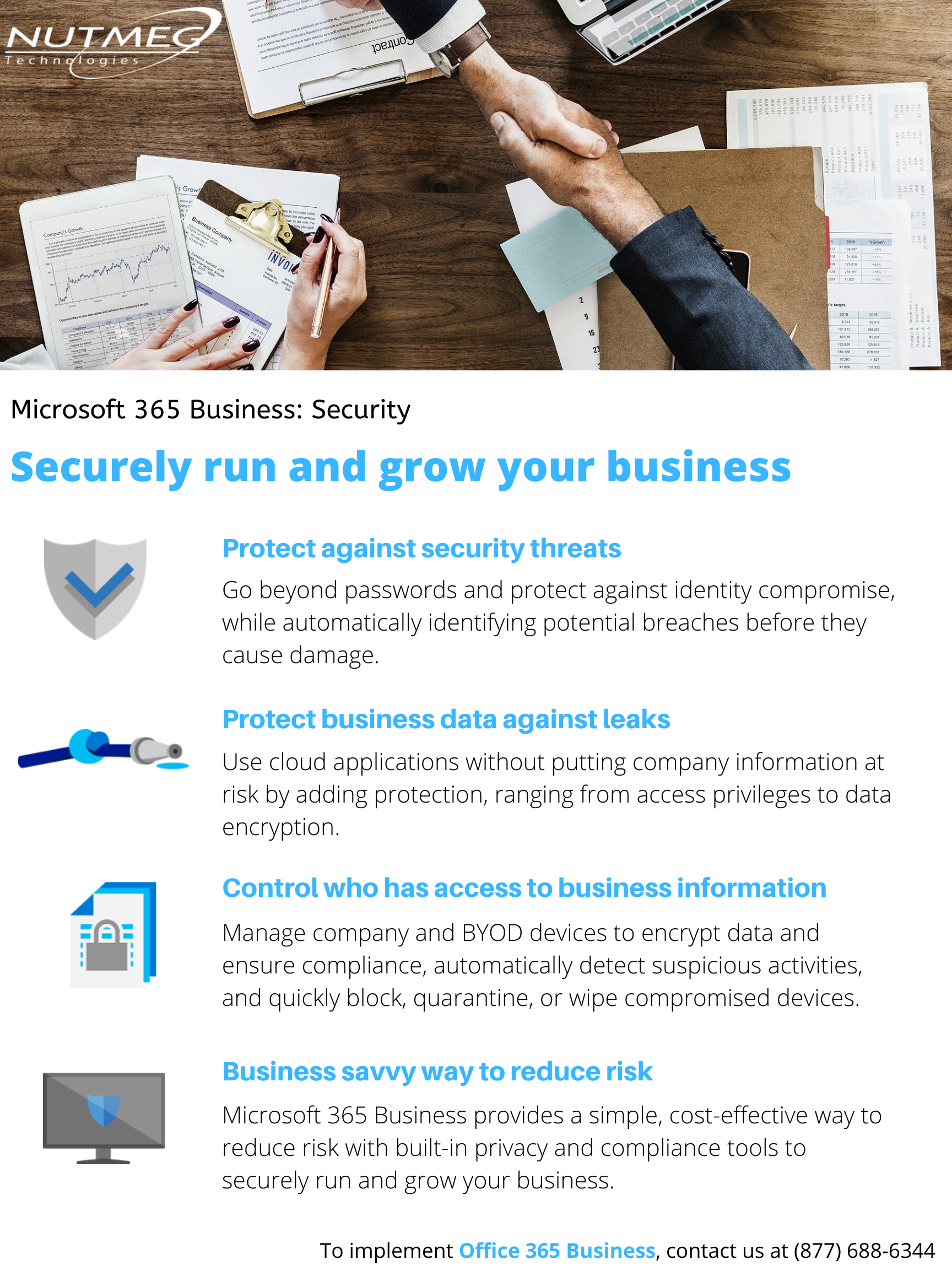 Securely run and grow your business with Microsoft 365 Business